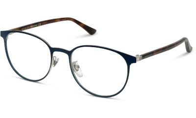 Lunettes de vue Gucci GG0293O 004 BLUE-AVANA-TRANSP