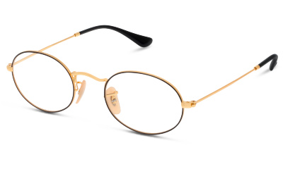 Lunettes de vue Ray Ban 3547V 2991 GOLD ON TOP BLACK