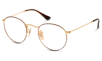 Optique Ray Ban 3447V 2945 GOLD ON TOP HAVANA 7407740a1f19