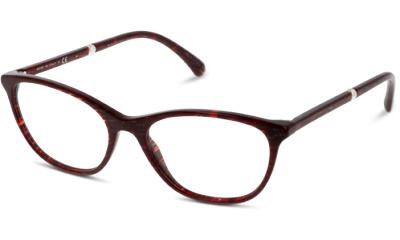Lunettes de vue Chanel 3377H 1638 RED GLITTER