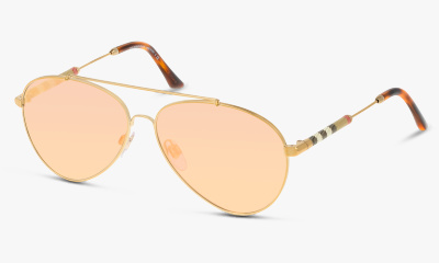 Lunettes de soleil Burberry 3092Q 11674Z BRUSHED LIGHT GOLD