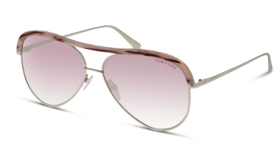 Lunettes de soleil Tom Ford FT0606 16Z SHINY PALLADIUM
