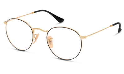 Lunettes de vue Ray Ban 3447V 2991 GOLD ON TOP BLACK