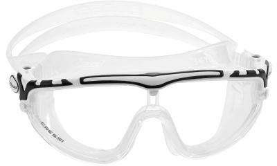 Masque de natation CRESSI MASQUE DE PISCINE SKYLIGHT  CLEAR BLANC/NOIR