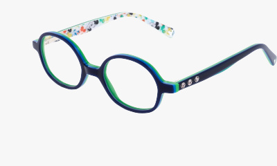 Lunettes de vue Mickey Col. Play ! DMAA029 C07 NAVY BLUE