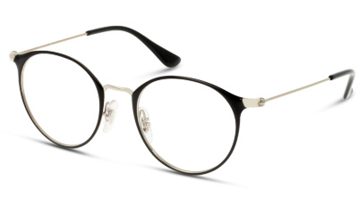 Lunettes de vue Ray Ban 0RY1053 4064 SILVER ON TOP BLACK