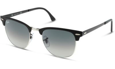 Lunettes de soleil Ray Ban 0RB3716 911871 SILVER ON TOP MATTE BLACK
