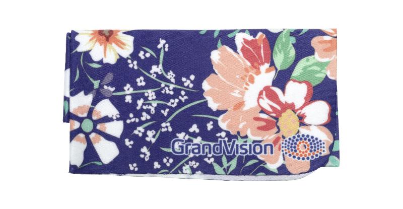 Chamoisine Collection Grandvision CHAMOISINE MOTIF FLORAL