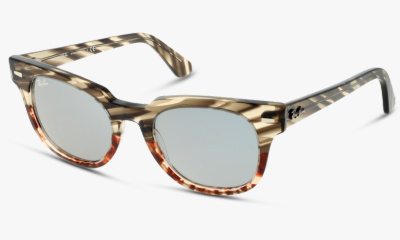 Solaire Ray Ban New & 2168 1254Y5 GREY GRADIENT BROWN STRIP