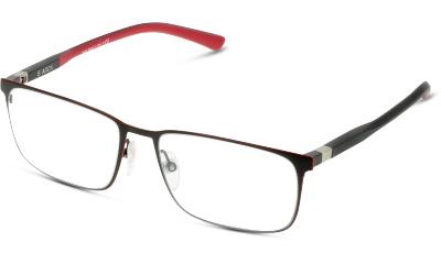 Lunettes de vue Starck 0SH2033 0001 MATTE BLACK/RED