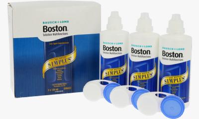 Produit Lentille BOSTON Boston Simplus - Pack 3X120Ml