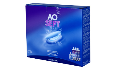 Produit Lentille AOSEPT Aosept Plus - Pack 3X360 Ml