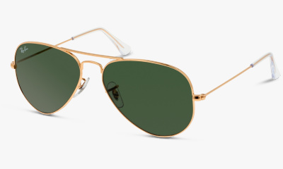 Lunettes de soleil Ray Ban RB 3025 AVIATOR W3234 DORE