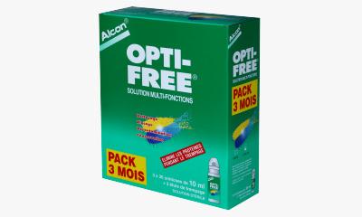Produit Lentille OPTI-FREE Opti-Free Unidoses - 90 Doses X 10 Ml