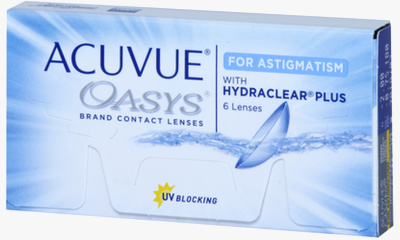 Lentilles Acuvue Acuvue Oasys For Astigmatism