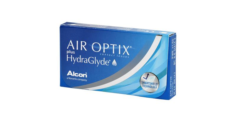 Lentille Air Optix Air optix plus hydraglyde