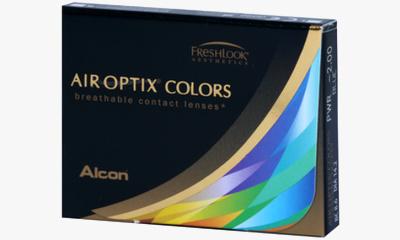 Lentille Air Optix Air Optix Colors VERT AMANDE