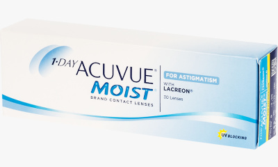 Lentille Acuvue 1 Day Acuvue Moist For Astigmatism