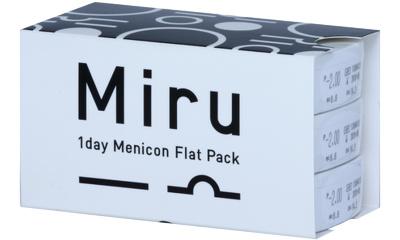 Lentille Miru Miru 1 Day Menicon Flat Pack