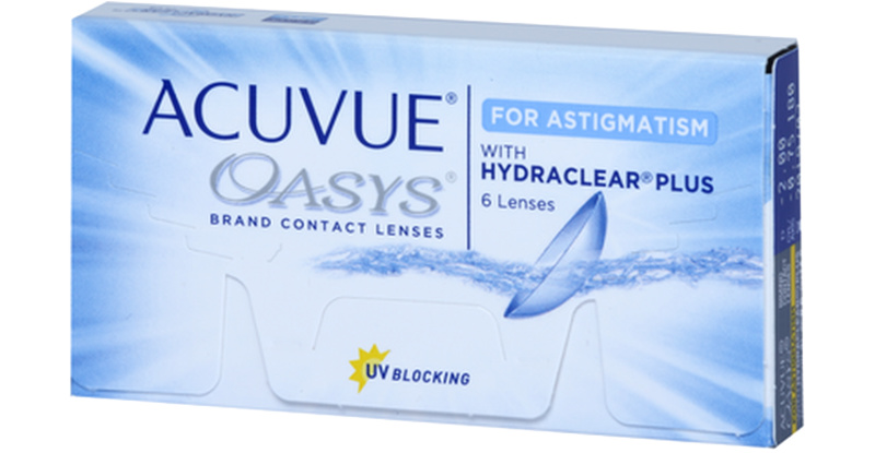 Lentilles Acuvue Acuvue Oasys For Astigmatism With Hydraclear Plus