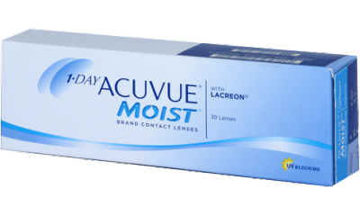 Lentilles Acuvue 1 Day Acuvue Moist