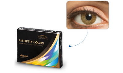Lentilles Air Optix Air Optix Colors CARAMEL