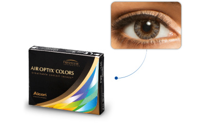 Lentilles de contact Air Optix Air Optix Colors GRIS PERLE