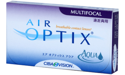 Lentille Air Optix Air Optix Aqua Multifocal