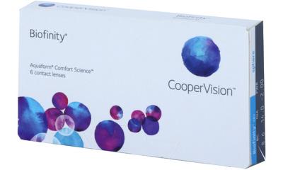 Lentille Biofinity Biofinity