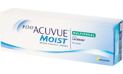 Lentille Acuvue 1 Day Acuvue Moist Multifocal