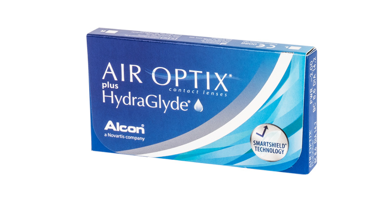 Lentille Air Optix Air optix plus hydraglyde