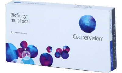 Lentilles Biofinity Biofinity Multifocal D