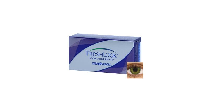 Lentille Freshlook Freshlook Colorblends VERT EMERAUDE