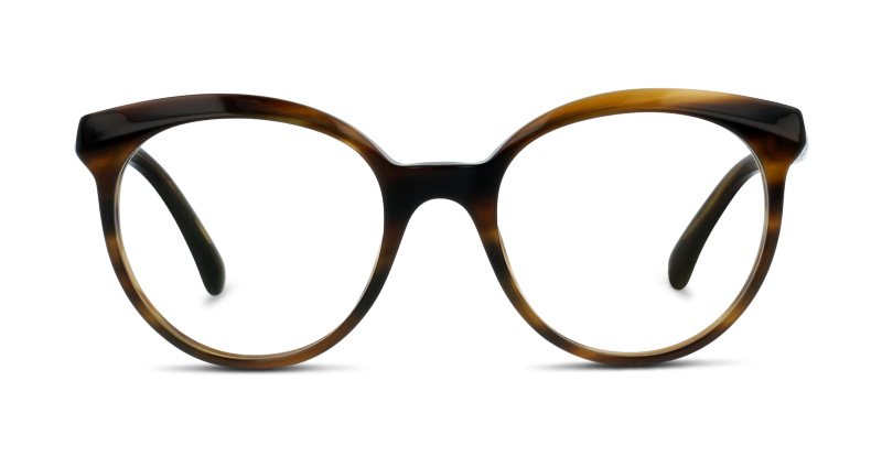 Optique Chanel 3355 1579 STRIPED BROWN   GrandOptical b272f5d336af