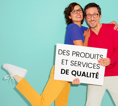 Des produits et services de qualité