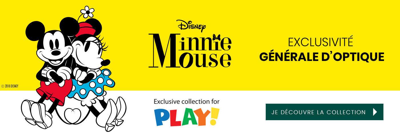 Collection Exclusive Mickey Minnie Lunettes de vue Générale d'Optique