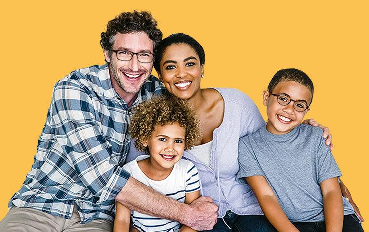 Des lunettes pour toute la famille