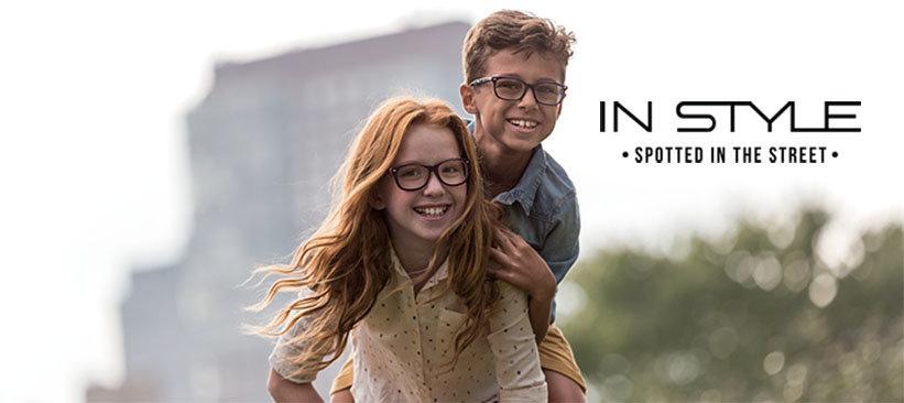 Des lunettes à la mode