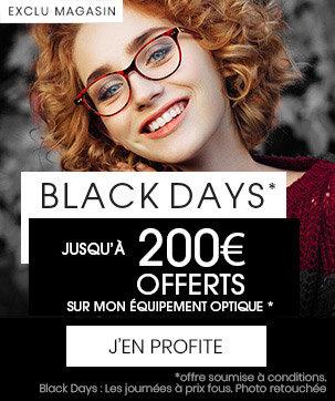 offre black friday lunettes de vue